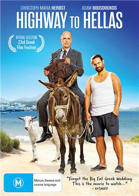 Highway to Hellas DVD Poster