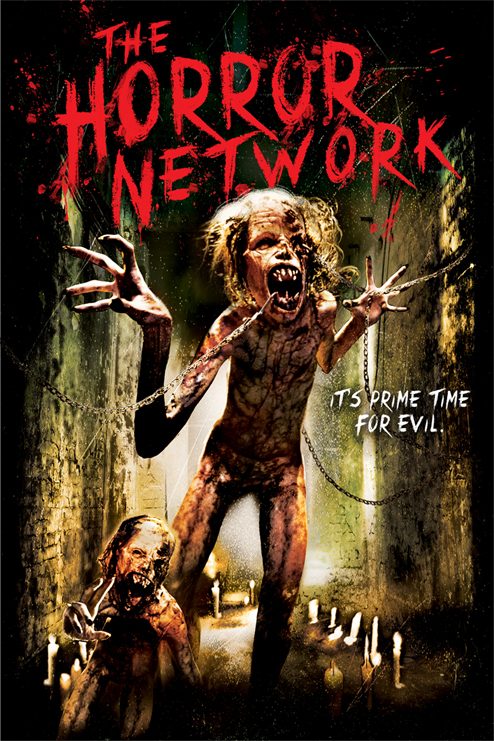 The Horror Network Vol 1 DVD Poster