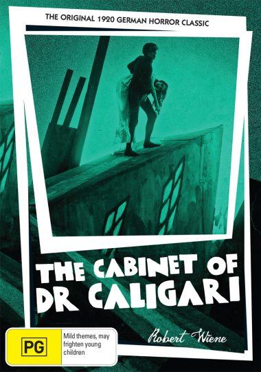 The Cabinet Of Dr Caligari - Australian DVD