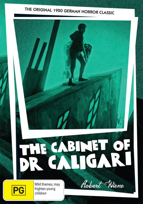 The Cabinet Of Dr Caligari - Australian DVD