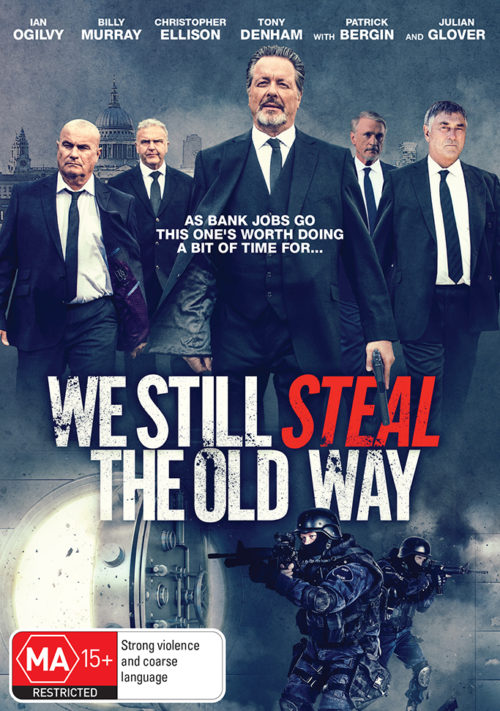 WE STILL STEAL THE OLD WAY Australian DVD Cover R4