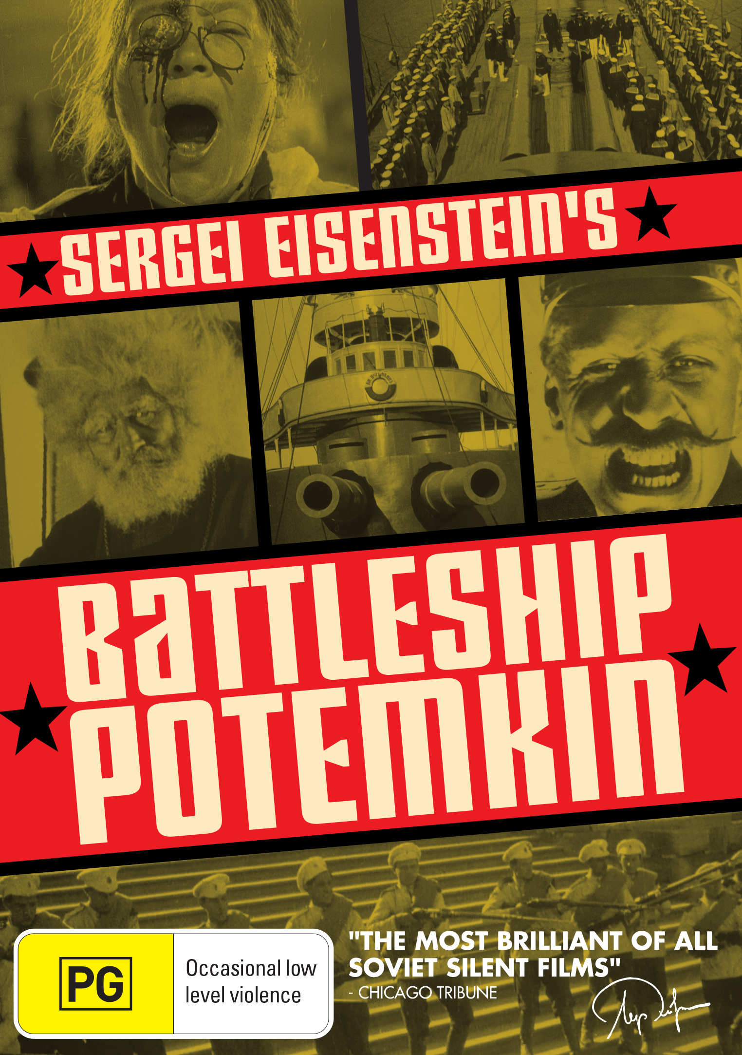 an analysis of political propaganda in battleship potemkin by sergei eisenstein Items 300 - 307  61 still from eisenstein's battleship potemkin: the sailor smashes the  [t]he  great russian propaganda films such as sergei eisenstein's battle-  rather  than a normative analysis to montage cinema, to use peter bürger's ter.
