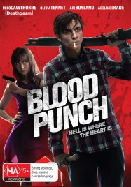 Blood Punch Australian DVD Cover