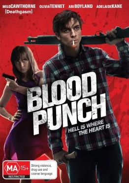 Blood Punch Australian DVD Cover