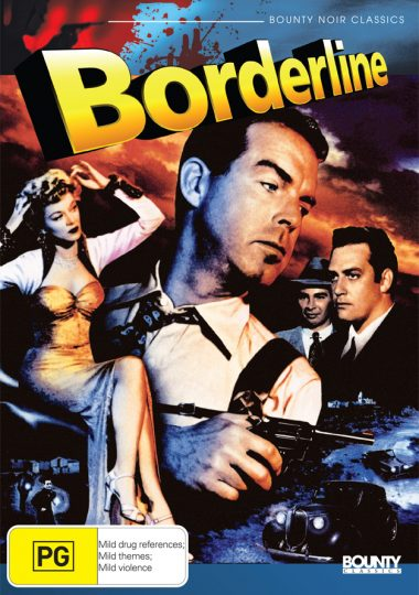 Borderline - Australian DVD Cover