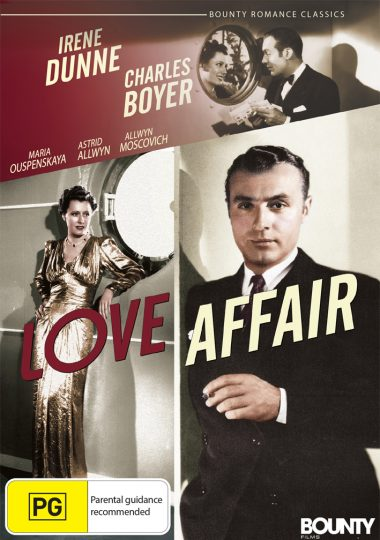 Love Affair - Australian DVD Cover