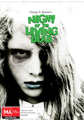 Night of the Living Dead - Bounty FIlm DVD Cover
