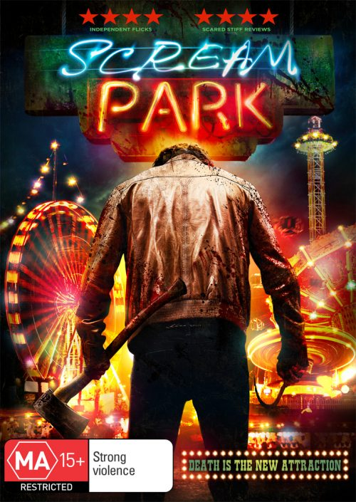 Scream Park - Australian DVD cover