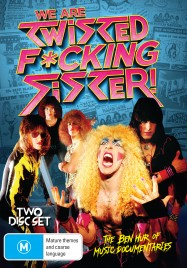 We're Are Twisted Fucking Sister Australian DVD cover.